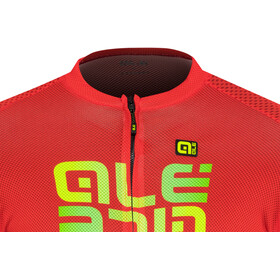 Alé Cycling Solid Mirror Jersey korte mouwen Heren, red